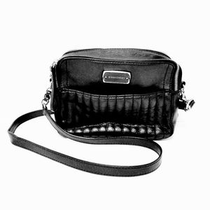 B. Makowsky Black Crossbody Purse